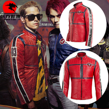 Hot New Live Rock & Roll My Chemical Romance Cosplay Costumes Senior Custom Suit Leather