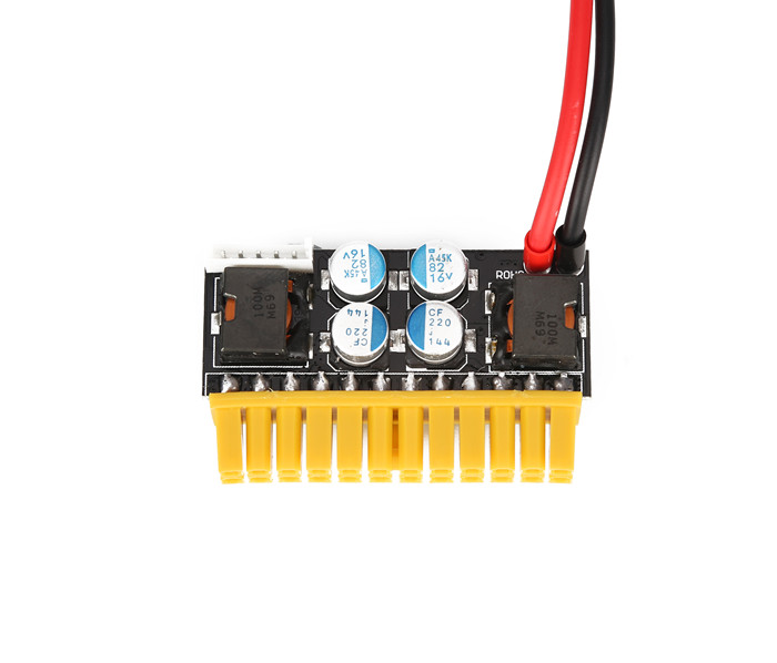 24Pin upgraded version of micro power, PicoPSU/, DC-ATX power, 180W high power direct current power module<br>