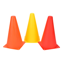 "3 Color 6Pcs 9"" Agility Football Training Cones Soccer Sports Field Drill Markers Anti-Wind Skate Agility training Marker"