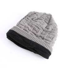 Unisex Knit Winter Women Men Cashmere Hip-Hop Beanie Cap Skull Baggy Wool Knitted Hat