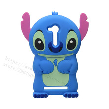 Hot Selling Fashion 3D Cartoon Case For Asus Zenfone GO ZB452KG 4.5 inches Case Cover Soft Silicone Blue Stitch Phone Cases(China)