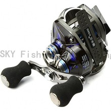 12+1BB Baitcasting Fishing Reel Fish Trolling Reel fit for shimano rod bait casting pesca molinetes spinning peche Fly Carp B219(China)