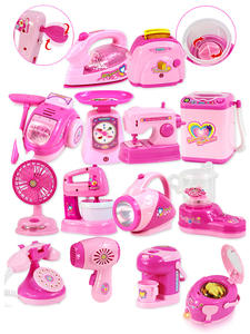 Appliances-Toy Simulation Pretend-Play Sound Pink Baby-Girl Household Mini Kids Children