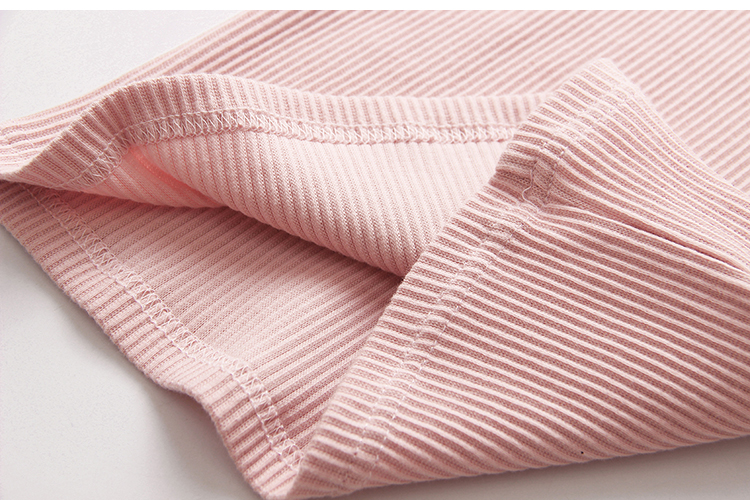 2018 Spring Autumn 100% Cotton White Grey Pink Solid Color Long Sleeve Pleated Turn-Down Collar Neck T Shirt For Girls 10 Years (18)