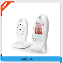 Night Vision Infant  Wireless Monitor Baby Digital Video Monitor Camera Audio Music Temperature Display Radio Nanny Monitor