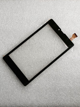 Free shipping 7 inch touch screen,100% New for Digma Plane 7700T 4G PS1127PL touch panel,Tablet PC sensor digitizer(China)