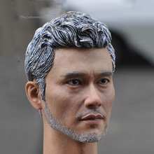 "1/6 Old Lee Byunghun Head Sculpt Model For 12"" Man Body Male Figure(China)"
