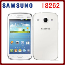 I8262 Original Unlocked Samsung Galaxy Core I8262 gt-i8262D I8260 GPS 4.3`` 5MP 8GB ROM 3G Bluetooth WIFI Touchscreen Smartphone