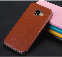 For Samsung GALAXY A3(2016) A310 Case Luxury Flip Leather Cell Phone Case For Samsung A3(2016) Book Style Pu Leather Stand Cover