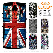 Custom 800 Styles Select Nice 3D Design Scarf Hot Sale Bike Motorcycle hijab Fishing Bandana Ski Sport Headwear Scarf Mask