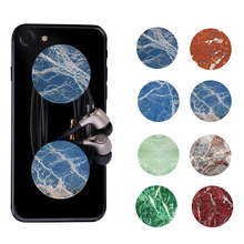 OLAF Marble Round POP marble Moblie Phone Device Holders and Stands Phone Wire Wrapping  for Smartphones & Tablets