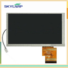 skylarpu 6.2 inch TFT LCD Screen (5mm) for Hannstar HSD062IDW1-A00 A01 A02 GPS LCD display screen panel (without touch)