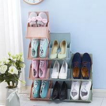 af5699de0b74 Urijk Multi-funktion Kunststoff Schuhe Lagerung Rack-Home Einfache Schuh  Racks Gestapelt Multi-