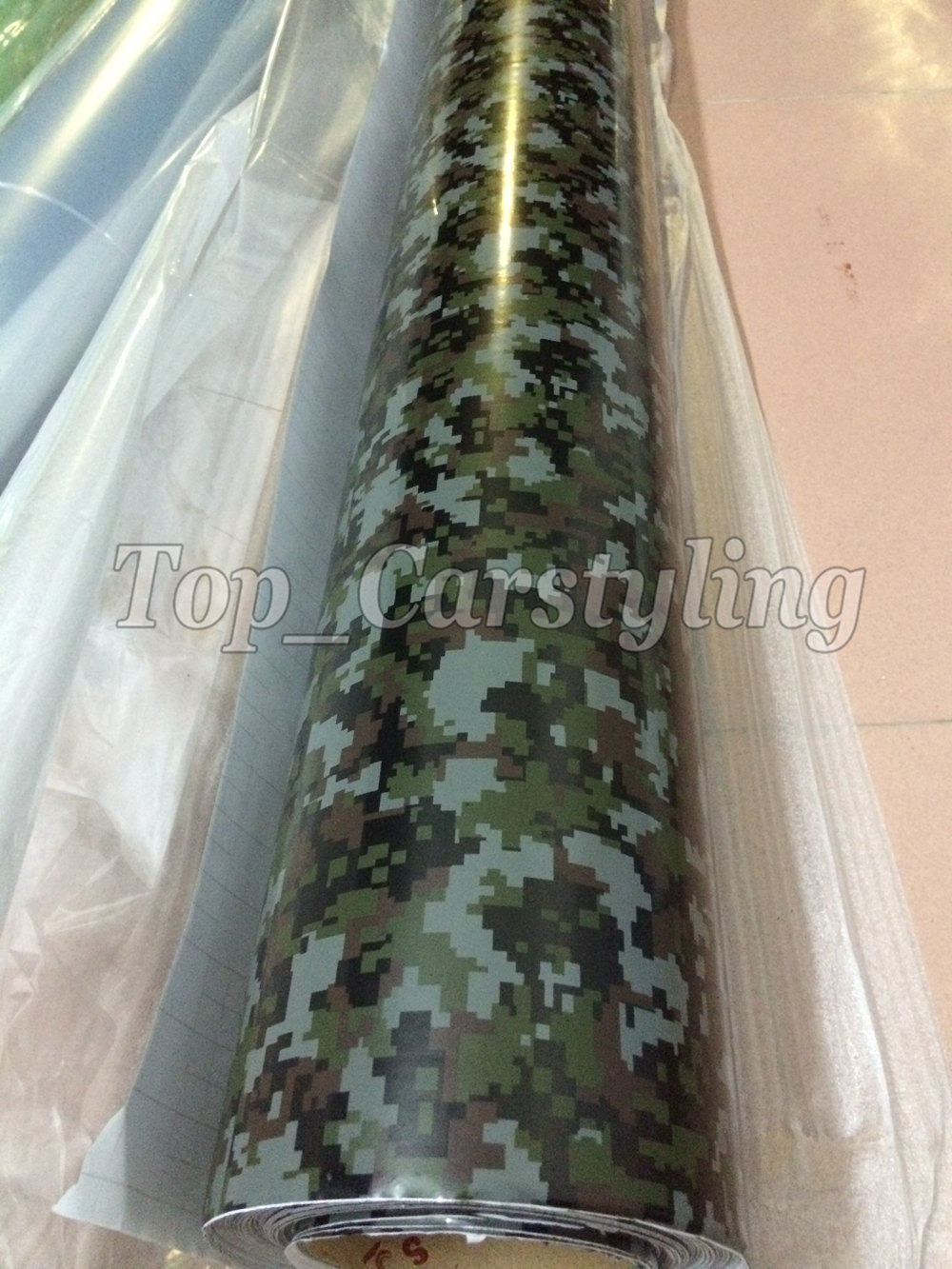 digital camouflage vinyl car wrapping film with air free (3)