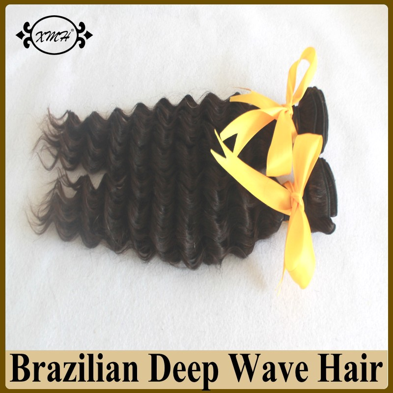 8A Grade Brazilian Virgin Hair Deep Wave Unprocessed Human Hair Weave 100g Bundles Hotsale Virgin Brazilian Human Hair Deep Wave<br><br>Aliexpress