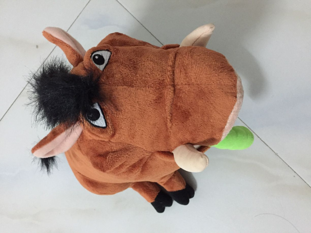 The Lion King Broadway Pumbaa Plush Bean Bag Plush Toys 30cm<br>