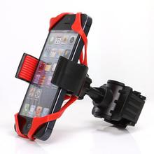 2017 PHONE STAND Cheap Universal Motorcycle Bicycle Bike Handlebar Mount Holder Band For Cell Phone GPS PROMOTION(China)