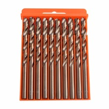 Flexsteel Tools M35 Cobalt Drill Bit Set,HSS-CO Drill Set 1.0-10MM, for Drilling on Hardened Steel, Cast Iron & Stainless Steel