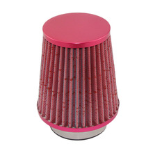 Air Filter Car Mechanical Supercharger Coche Car Filtre air intake Coches 76mm Air Filter Car Universal Cold Kits Drop Shipping