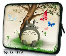 "Hot Cute Totoro Laptop Soft Sleeve Bag Case Pouch For 9.7"" 10.1"" 11.6"" 12"" 13.3"" 14"" 15"" 15.6"" Samsung /SONY Asus Acer Apple(China)"