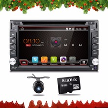 Universal 2 din Android 4.4 Car DVD player GPS+Wifi+Bluetooth+Radio+1GB CPU+DDR3+Capacitive Touch Screen+3G+car pc+aduio