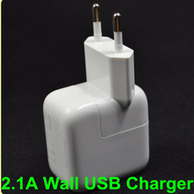 10W 2.1A USB Wall Charger EU plug for Apple iPad mini/2/3/4/AIR For Samsung Andorid Tablet Charger for xiaomi