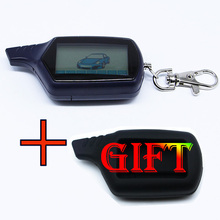 Twage B6 Lcd Remote Control Key Fob Chain /keychain for Vehicle Security Starline B6 Two Way Car Alarm System(China)
