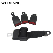 120cm Retractor 2 Point Retractable Train Bus Seat Safety Belt Lap Automotive Safety Belts Seatbelts for School Bus Truck Cars(China)
