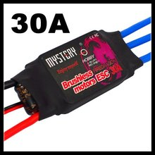 Mystery Fire Dragon 30A Brushless ESC RC Speed Controller For RC Helicopter Airplane(China)
