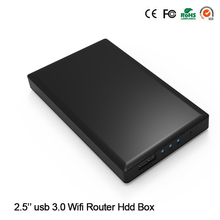 "New Arrive! 1 TB 2.5"" Sata HDD SSD Disk 5GBPS USB 3.0 Reading Capacity with Wireless WIfi Function ( 1 TB HDD Disk Included)"