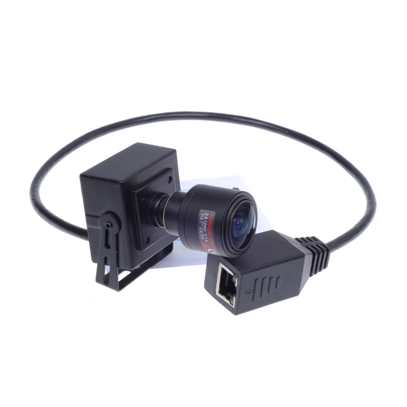 Mini camera POE cable ONVIF  2.0MP 1080P IP Camera H.264 Securiy P2P  2.8-12mm Manual Zoom Lens CCTV Network Camera<br>