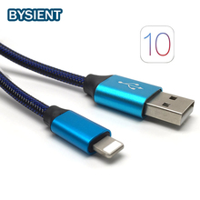 Buy Nylon i6 USB Cable iPhone 6 6S Plus Charger Power Cord iPhone 5 5s SE iPad 4 iphone6 8 Pin 30cm &100cm Adapter Wire for $2.27 in AliExpress store