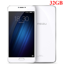 Original Meizu U20 Global Frimware 5.5 inch 2.5D FHD 1080P MTK Helio P10 Octa Core 3GB RAM 32GB ROM Cell Phone Fingerprint(China)