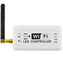 WIFI RGB LED Controller Music Modes Wireless Wifi370 Controller For LED Strip Light Support IOS Android (C20)