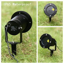 Outdoor Single Green Static Firefly Laser Projector & Starry Laser Lawn Light IP65 Waterproof for Patio,Lawn,Gardens,Christmas(China)