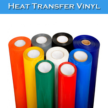 SINOVINYL Colored PVC Material Plotter Cutting Heat Press T-shirt Heat Transfer Vinyl Film
