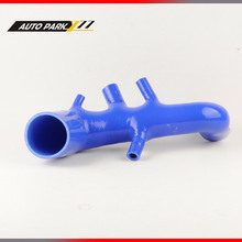 Silicone Air induction intake pipe tube hose for audi tt 225 s3 seat leon R silicone hose radiator(China)
