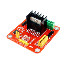Smart Electronics L298 Module L298N Dual Bridge DC Stepper Motor Driver Shield Expansion Controller Board for Arduino DIY Kit