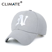 Climate Striking 3D N Letter Logo Baseball Sport Caps Amazing Cotton Red Navy Color Gorras Hats For Men Women Unisex Adjustable(China)
