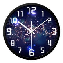 REIDA Brand 12 Inch Living Room Bedroom  Wall Clock Quiet Round Clock Creative Modern Personality Fashion Simple Quartz Clock
