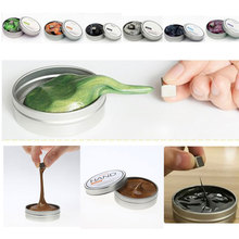 Creative Magnetic Putty Plasticine Clay Toy DIY Slime Play Dough Magnetic Rubber Mud Polymer Clay Toy Child DIY Educational Toys(China)