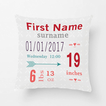 Boy'S Nursery Room Baby Stat Arrow Pattern Throw Cushions Decorative Cushion Cover Pillow Case Customize Gift By Lvsure For Car