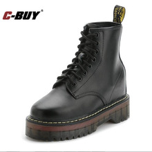 Women Boots British Style Autumn And Winter Rivet Martin boot Real Leather  Ankle Boots Women Motorcycle Boots Shoes Women z10