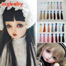 1/3 1/4 BJD Wig Accessories For Dolls Hair Wig Baby Born Doll Hair For Dolls Girl Gift DIY Dress Up Dolls Wig For Toys ingbaby