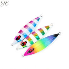 150g 200g 250g JE Lead Metal Sinker Jigging Lure Slow Pitch Sinking Jig Deep Sea Artificial Fishing Bait Saltwater Ocean Angling