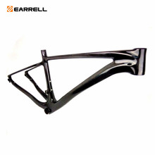 EARRELL carbon road frame 29er mtb frame 3k/ud matte gloss size 19.5/15.5/15.5brompton bicycle frame fixed gear frameset(China)