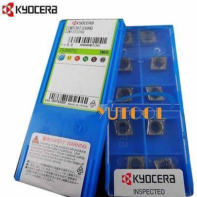 New 10pcs KYOCERA Carbide insert CCMT09T308HQ CCMT3252 TN60 CNC Turning insert<br><br>Aliexpress