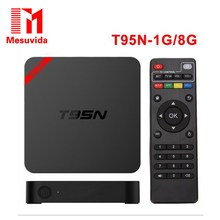MESUVIDA T95N-Mini MX+ Android TV Box Amlogic S905X Quad Core 2.4GHz WiFi HDMI 2.0 Media Player+T95N Android 6.0 TV BOX 2GB 8GB