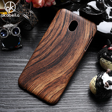 AKABEILA Wood Design Phone Case For Samsung Galaxy J3 2017 Cases J330 J330F J330G/DS EU Eurasian Version 5.0 inch Cover Shell(China)