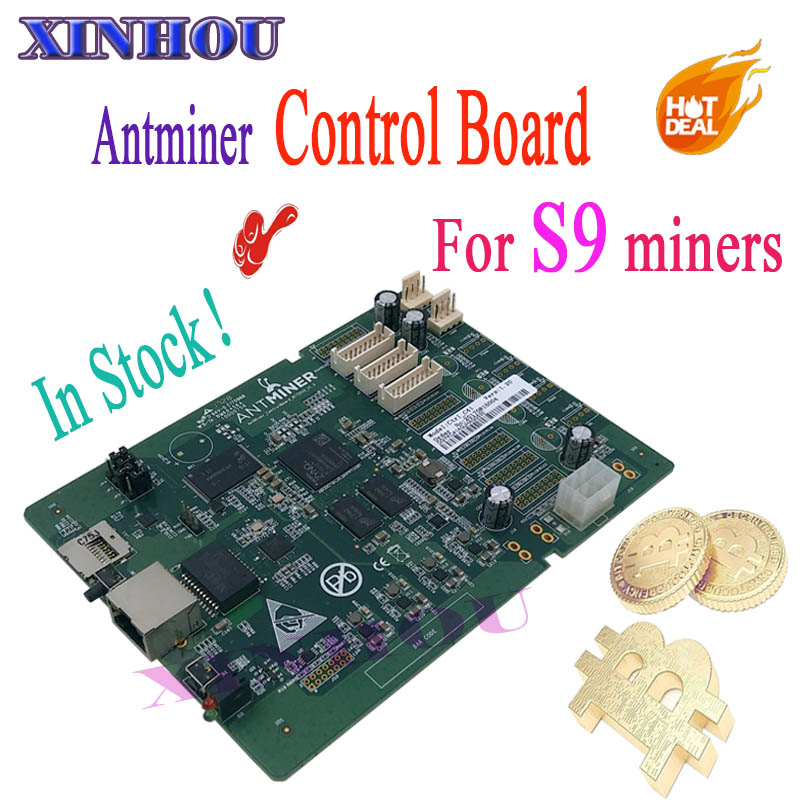 BTC BCH mining S9 control board Applicable to ANTMINER S9 14.5T 14T 13.5T 13T 12.5T 12T 11.89T Bitcoin miner Accessories